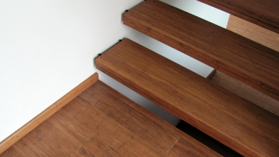 Solid Strand Woven Bamboo Stair Treads