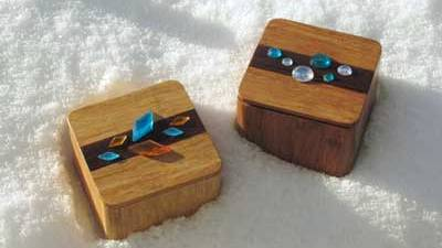 Chunky Charly range of bamboo boxes